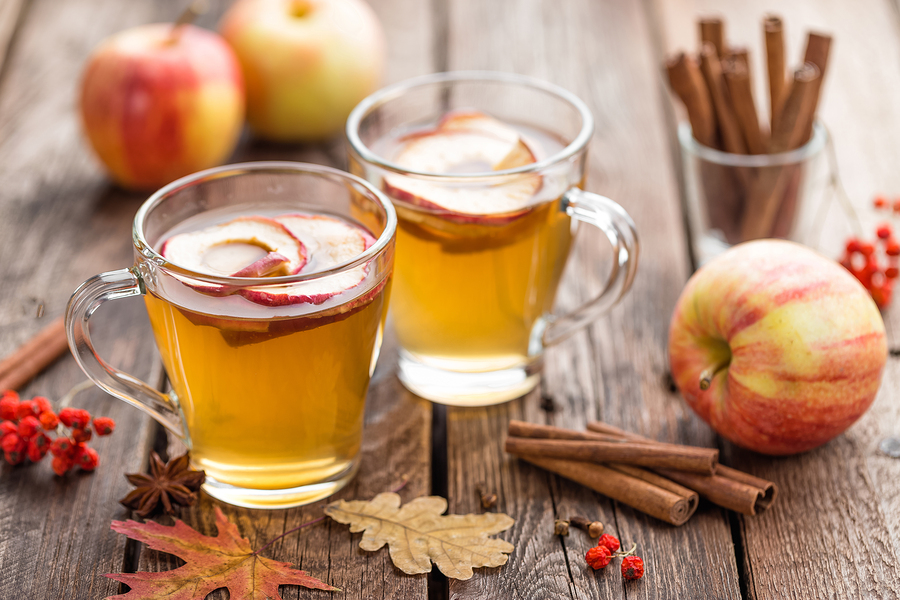 apple cider for gas pain